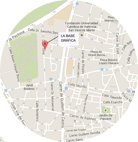 Calle Turia Maps
